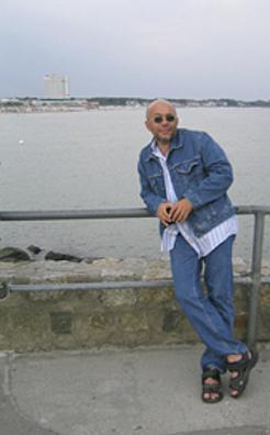 Ingolf an der See. Das Foto nehmen wir jedes Jahr. :-)